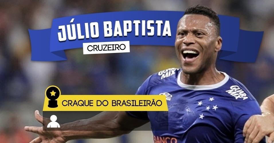 Craque do Brasileirão - Júlio Baptista/Cruzeiro