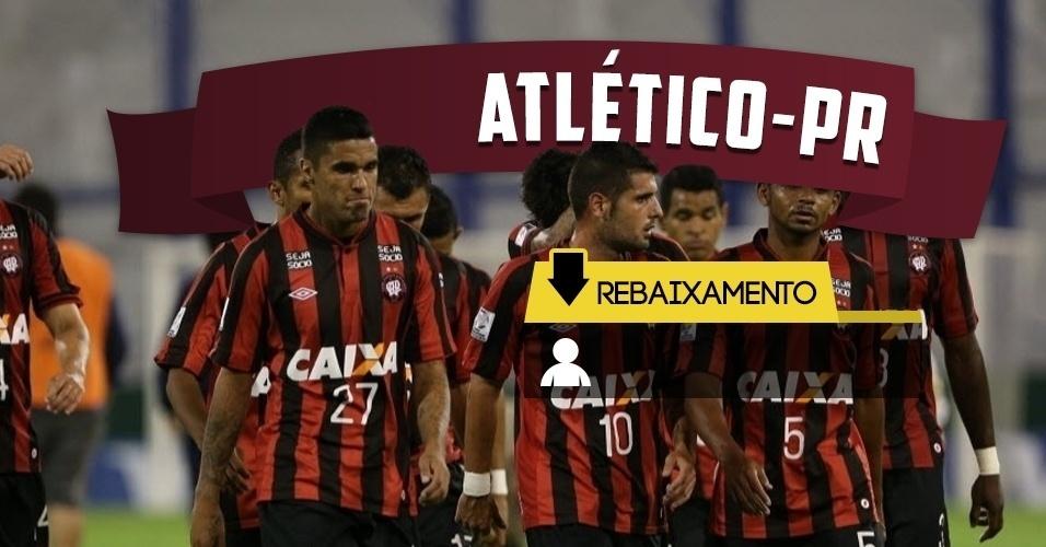 Rebaixamento - Atlético-PR