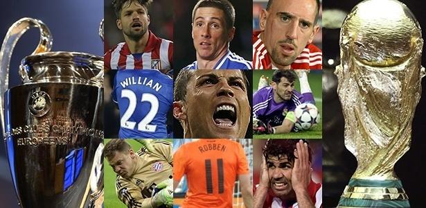 Jogos Chelsea x Atlético de Madri e Real x Bayern antecipam situações que acontecerão no Brasil