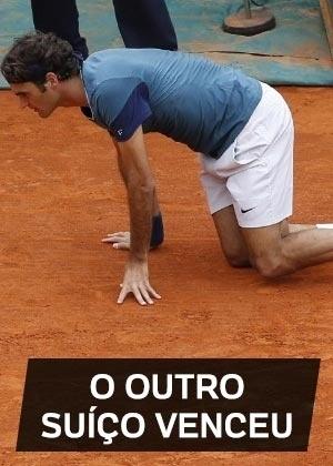 O outro suíço venceu: Parece estar virando rotina: em duelo entre suíços, o vencedor não é aquele ex-número 1 que todo mundo conhece. No domingo, na final do Masters 1000 de Monte Carlos, Stanislas Wawrinka fez 2 a 1 em Roger Federer. Para completar, o título ainda marcou apenas a terceira vez desde 2010 que um tenista que não os Big Four (Federer, Rafael Nadal, Novak Djokovic e Andy Murray) venceu uma competição desse nível (os outros foram Robin Soderling em 2010 e David Ferrer em 2012)