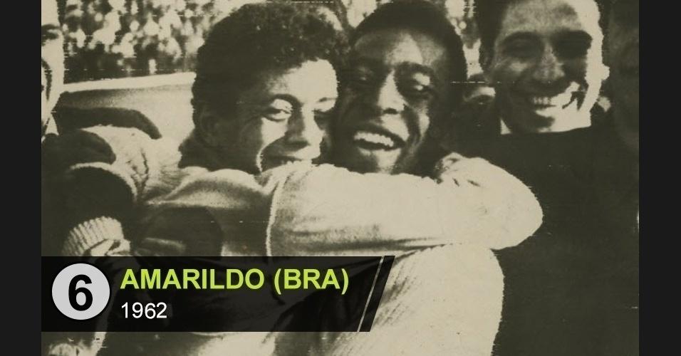 """Amarildo (BRA): """"O cara que salvou o bi ao derrotar a Espanha"""", diz Juca Kfouri"""