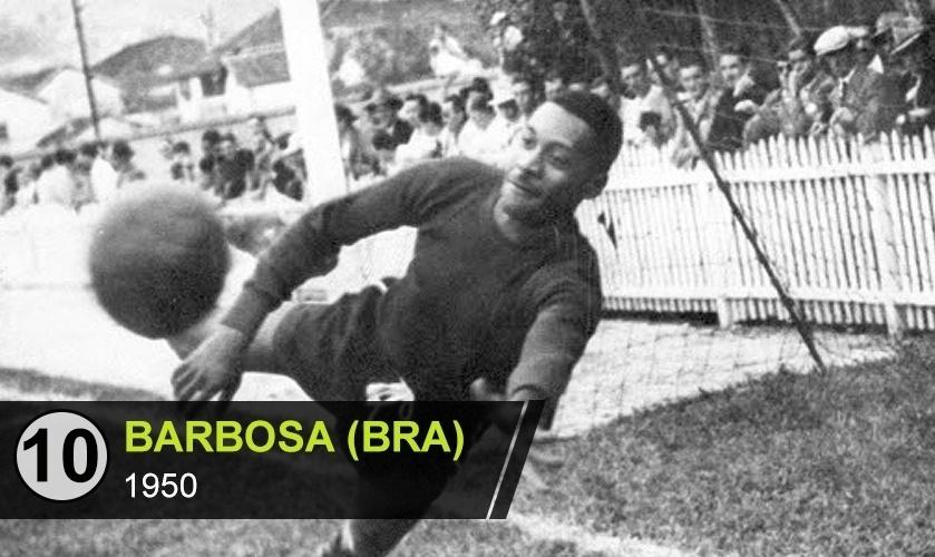 """Barbosa (BRA): """"Virou o vilão por causa da derrota da seleção na final da Copa de 50. Ali acabou a paz"""", diz Vitor Birner"""