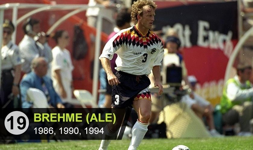 """Brehme (ALE): """"O alemão que era capaz de fazer tudo e bem, mas que deu o azar de jogar no time de Lothar Matthäus e Klinsmann, mais badalados que ele"""", diz Kfouri"""