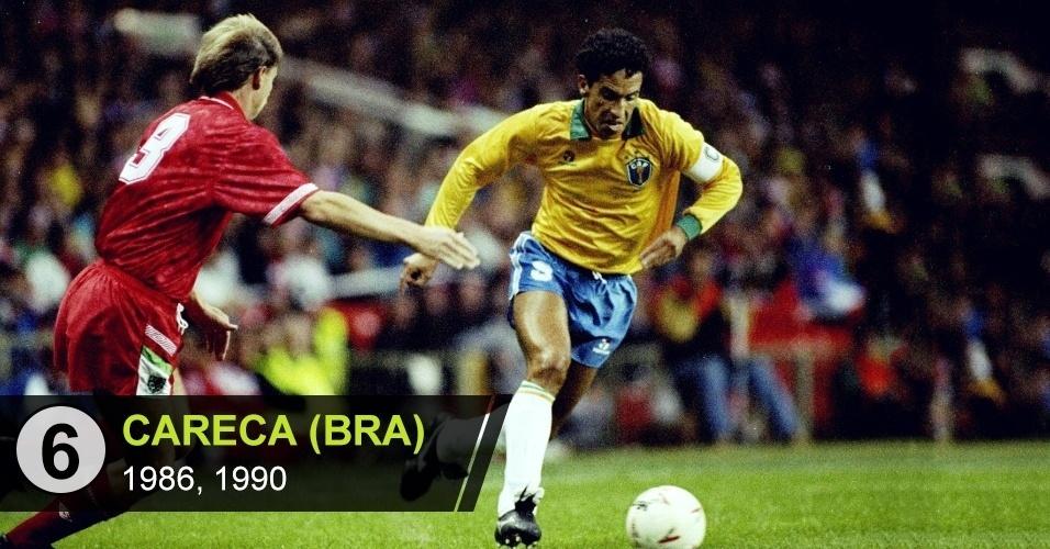 """Careca (BRA): """"Fez uma Copa tão boa quanto Romário, em 1994, e Ronaldo, em 1998, mas não é reconhecido. O Brasil foi eliminado invicto em 1986"""", diz Vitor Birner"""