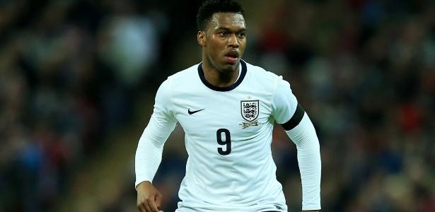 Daniel Sturridge é uma das esperanças da Inglaterra na Copa do Mundo