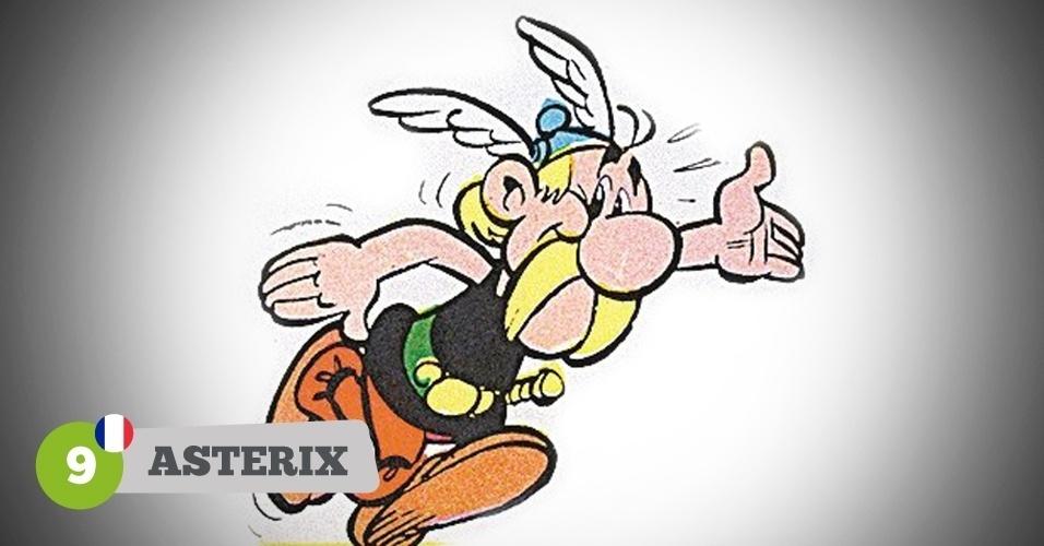 Asterix, herói da França na Copa