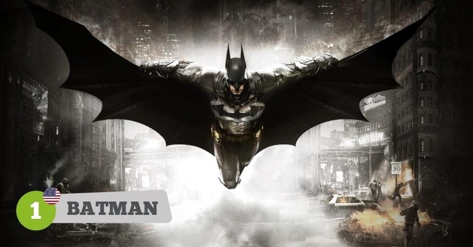 Batman, herói dos EUA na Copa
