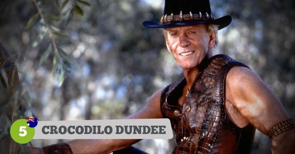 Crocodilo Dundee, herói da Austrália na Copa