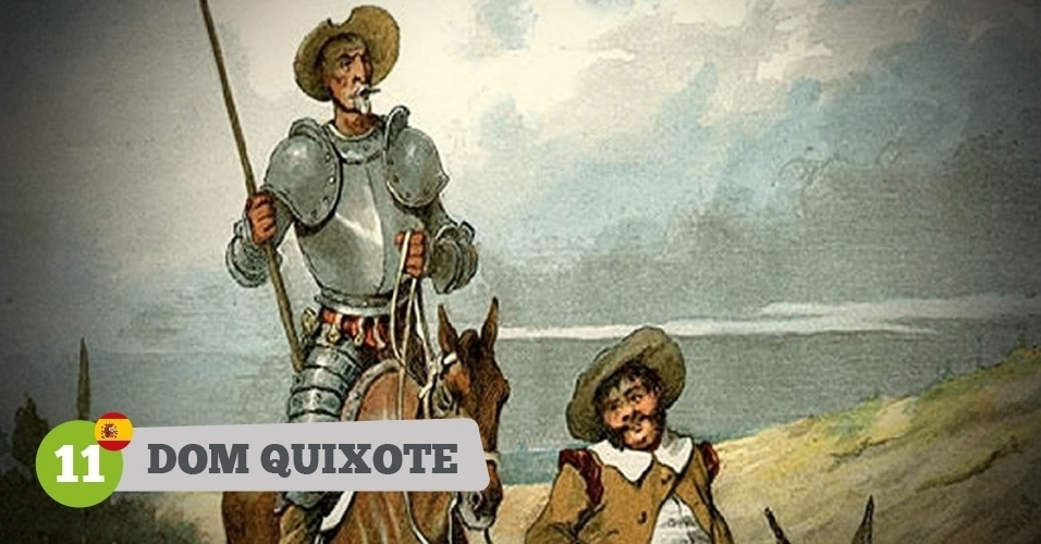 Dom Quixote, herói da Espanha na Copa