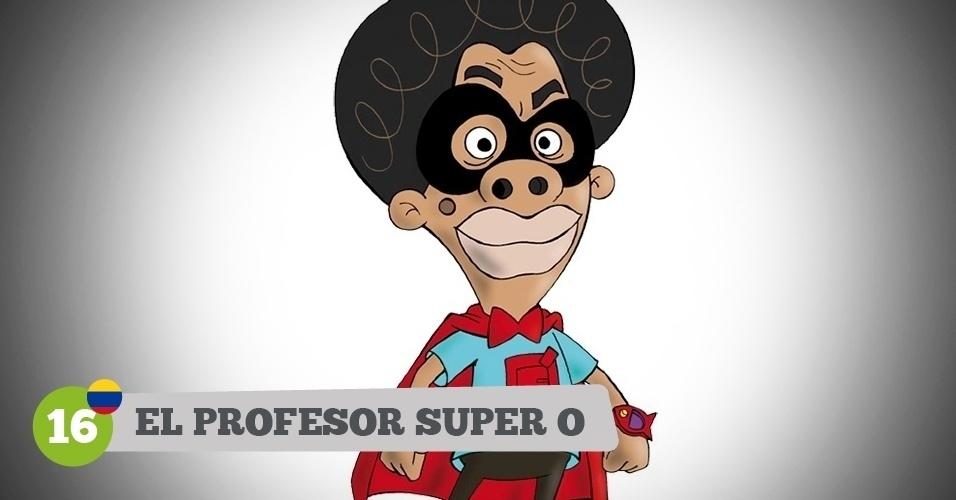 El Profesor Super O, herói da Colômbia na Copa
