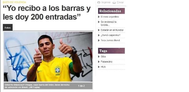 Giba prestou depoimento à polícia gaúcha e disse que não irá mais alugar ginásio aos argentinos