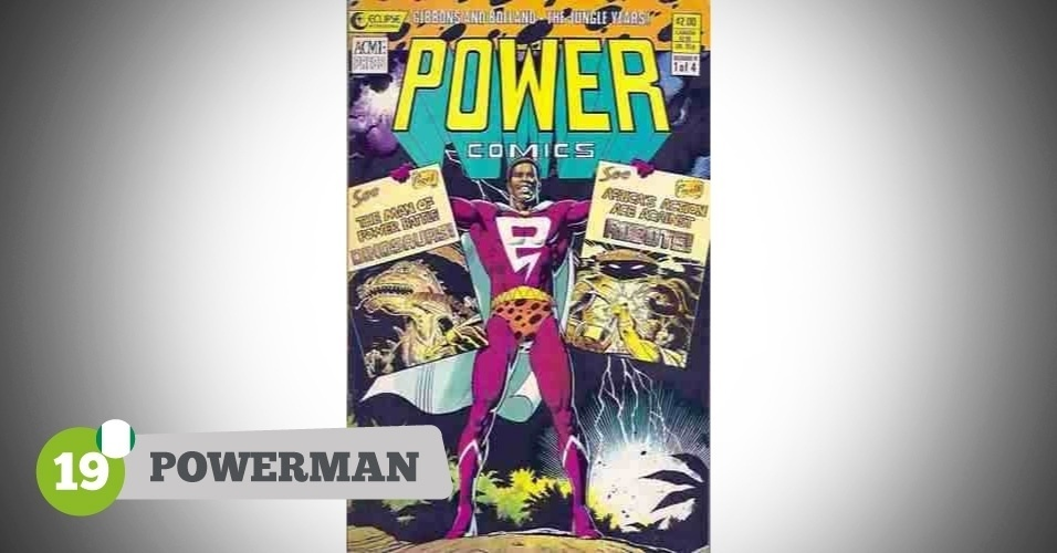 Powerman, herói da Nigéria na Copa