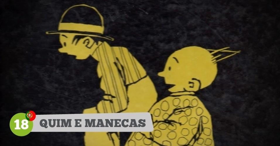 Quim e Manecas, heróis de Portugal na Copa