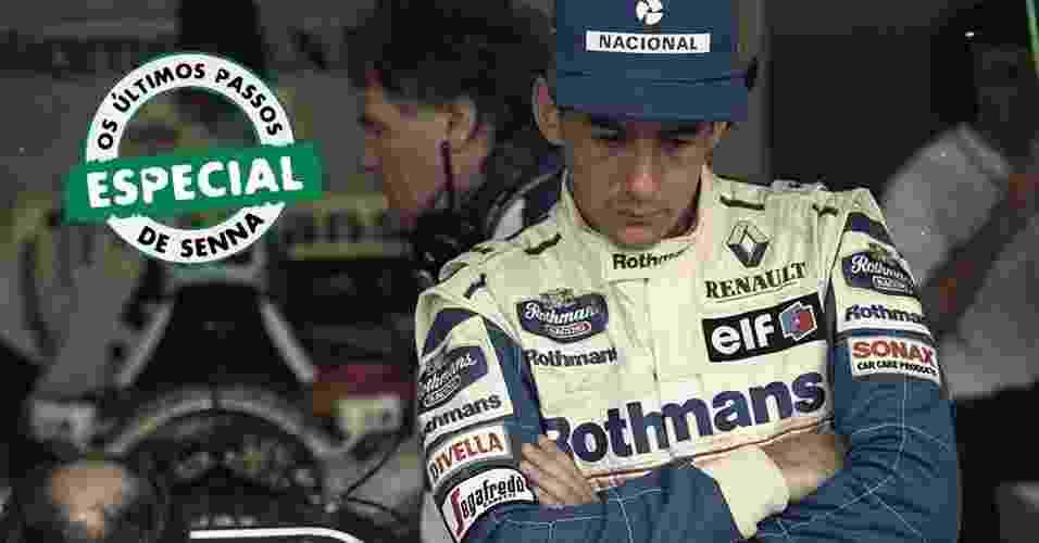 """Em 12 capítulos, descubra """"O que você ainda não sabe sobre a morte de Senna, 20 anos depois"""", escrito por Livio Oricchio, que revive os últimos passos do tricampeão - Pisco del Gaiso/Folha Imagem"""