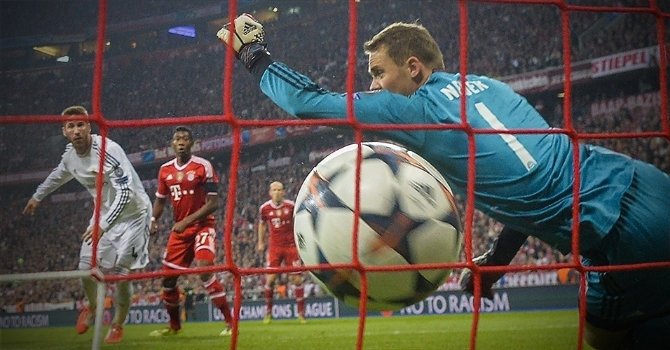 Em detalhes: Bayern 0 x 4 Real Madrid (primeiro gol de Sérgio Ramos)