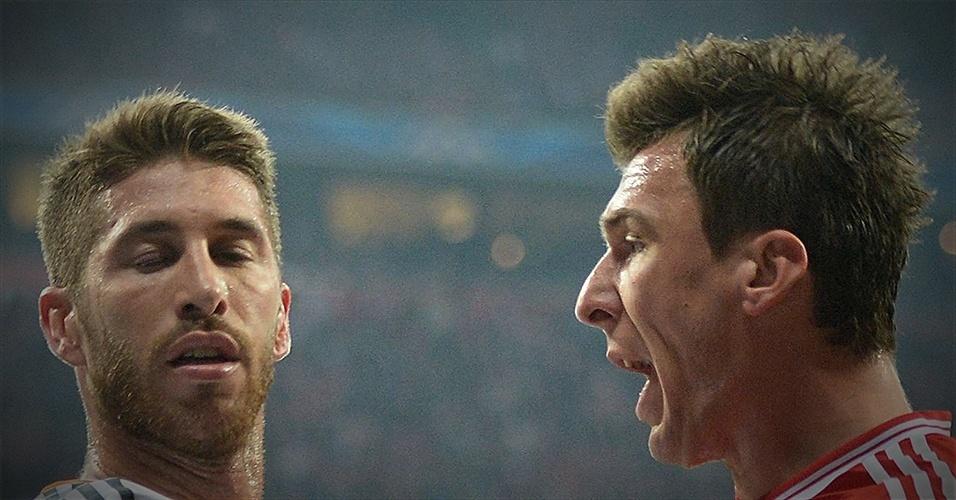 Em detalhes: Bayern 0 x 4 Real Madrid (Sérgio Ramos e Mandzukic)