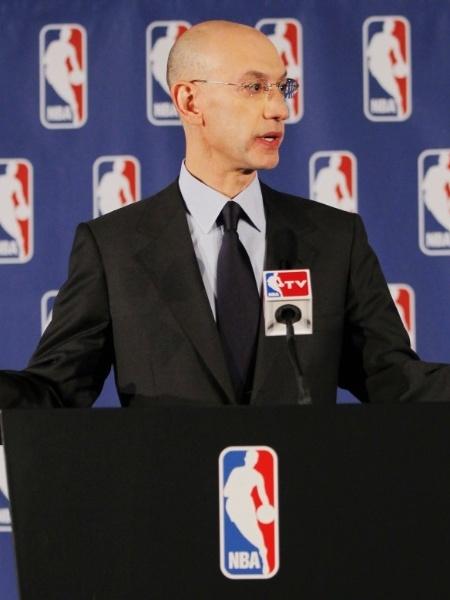 NBA terá regras novas, aprovadas por um conselho e pelo comissário Adam Silver - AFP