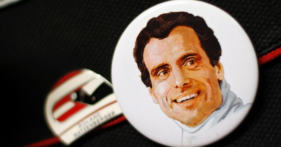 Austríaco Roland Ratzenberger, que morreu um dia antes de Senna, não foi esquecido