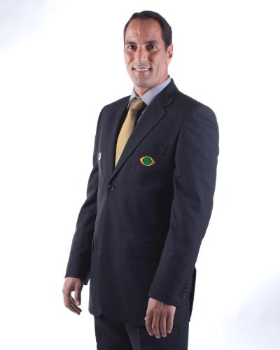 Edmundo, ex-jogador de futebol, comentarista da Band