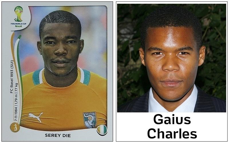 Gaius Charles, ator de Grey's Anatomy, já fez um jogador de futebol americano em outro seriado, Friday Night Lights; na Copa, poderia fazer o papel de Serey Die, da Costa do Marfim