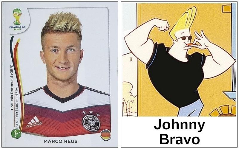 Marco Reus, da Alemanha, mostra ao mundo que Johnny Bravo é sim moda