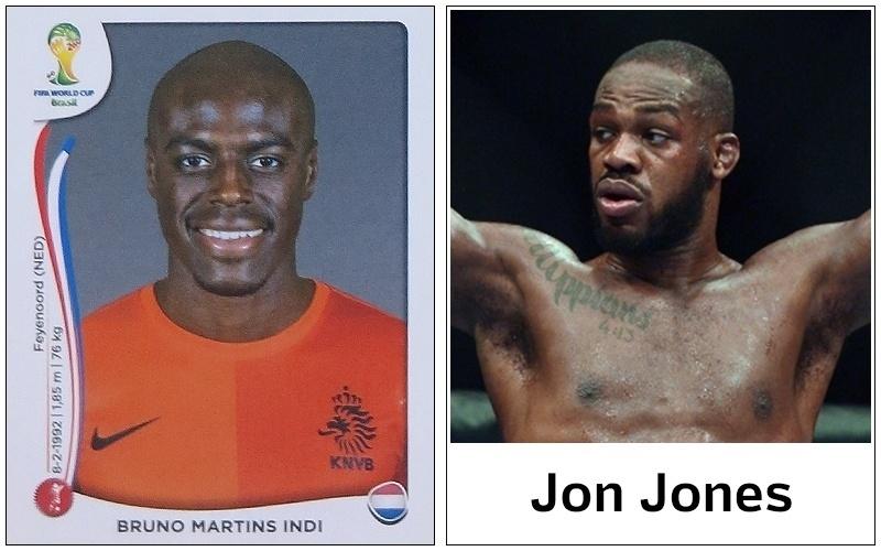 Os adversários que tomem cuidado: o zagueiro holandês Bruno Martins Indi pode encarnar Jon Jones em campo na Copa e sair distribuindo golpes violentos