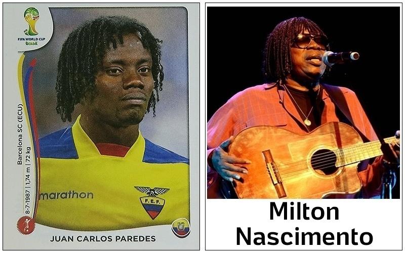 Paredes, do Equador, pode aproveitar a passagem pelo Brasil para soltar a voz em shows cover de Milton Nascimento