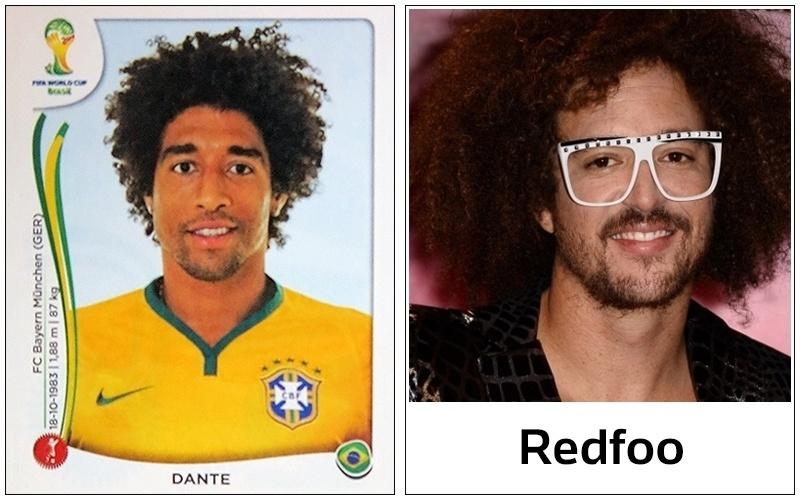 Se cantar rap e colocar um óculos bizarro, Dante pode até confundir a tenista Victoria Azarenka, namorada do rapper Redfoo