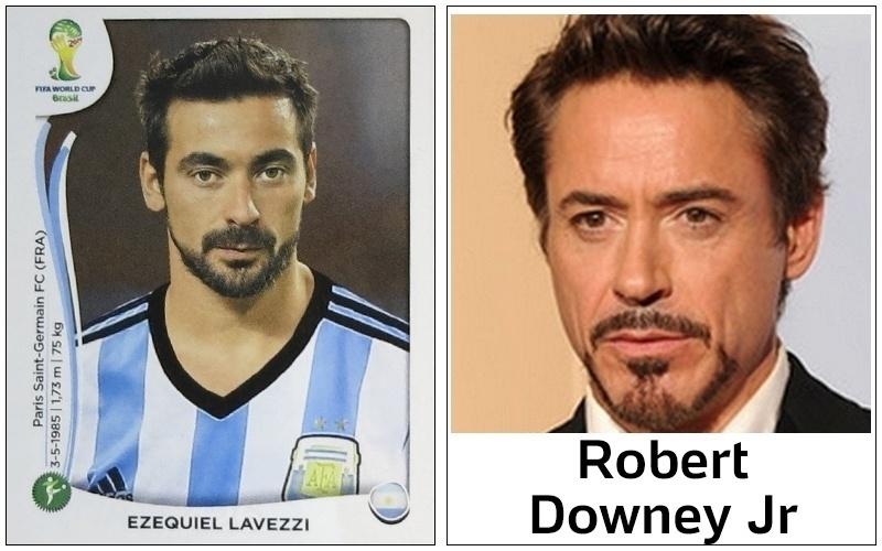 Se Lavezzi encarnar o 'Homem de Ferro' na Copa, assim como Robert Downey Jr., os adversários que se cuidem