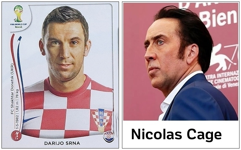 Srna, lateral da Croácia, virará 'meme' na internet logo mais, assim como Nicolas Cage virou