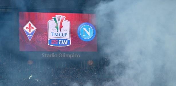 Torcedor foi morto durante briga de torcidas de Napoli e Fiorentina em 2014 (foto) - AFP PHOTO / FILIPPO MONTEFORTE