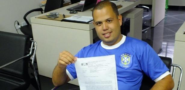 Paulo Miguel Heszki, estudante, conseguiu na Justiça direito de comprar de ingresso da Copa