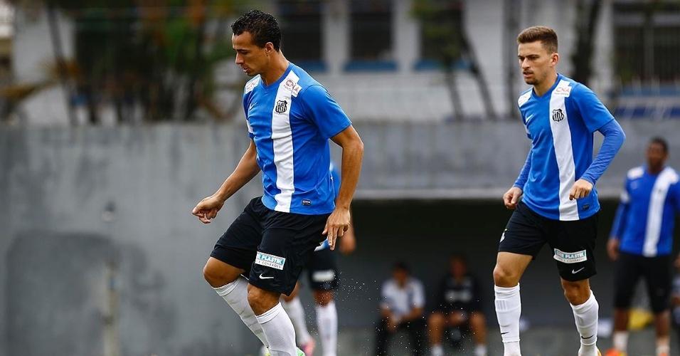 Leandro Damião e Lucas Lima ainda não justificaram o investimento feito pelo Santos para contratá-los