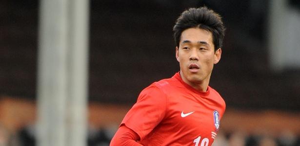 Park Chuyoung é um dos remanescentes da Copa de 2010 na seleção da Coreia do Sul