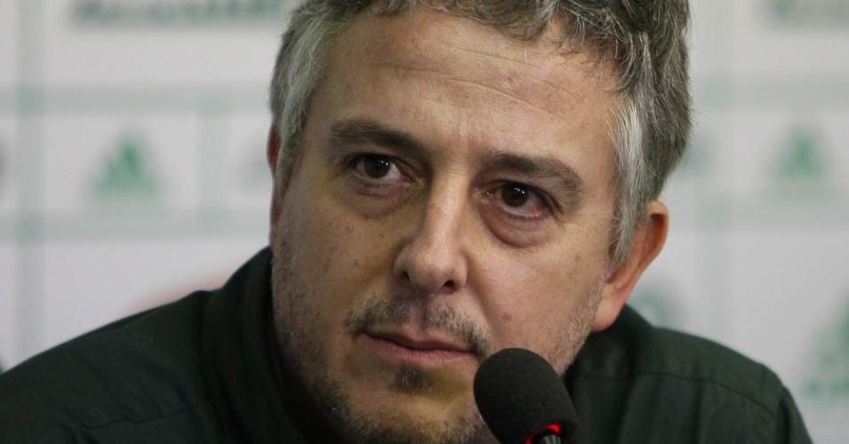 08-05-2014 - Paulo Nobre dá entrevista para falar sobre o próximo técnico do Palmeiras
