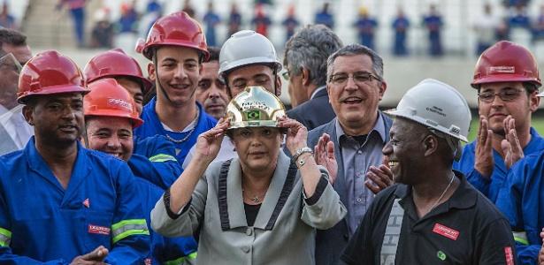 Dilma falou sobre a Copa do Mundo em discurso nesta terça-feira