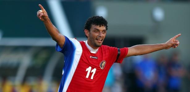 Michael Barrantes, da Costa Rica, diz que o time joga pelo país