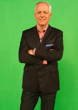 Milton Leite foi um dos destaques da cobertura da SporTV na Copa do Mundo
