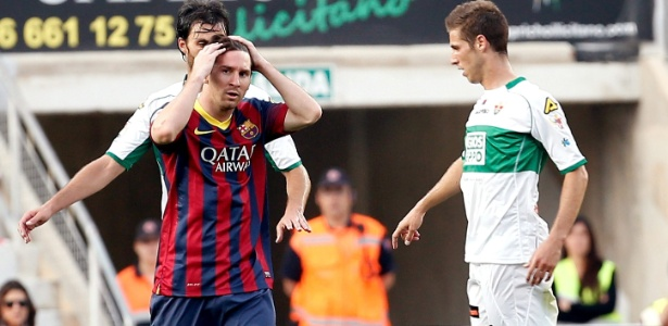 Lionel Messi admitiu não ter feito uma grande temporada pelo Barcelona