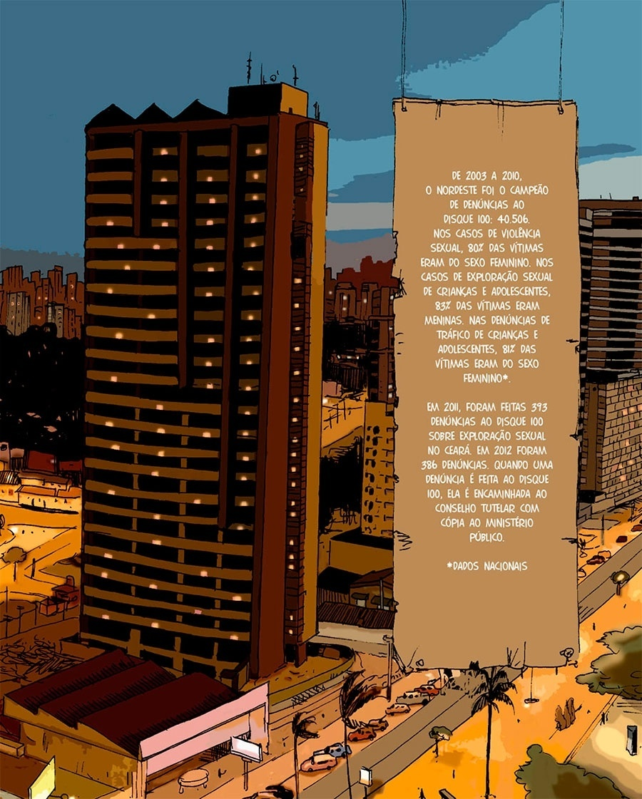 Capítulo 1: De 2003 a 2010, o Nordeste recebeu mais de 40 mil denúncias de violência sexual no disque 100.