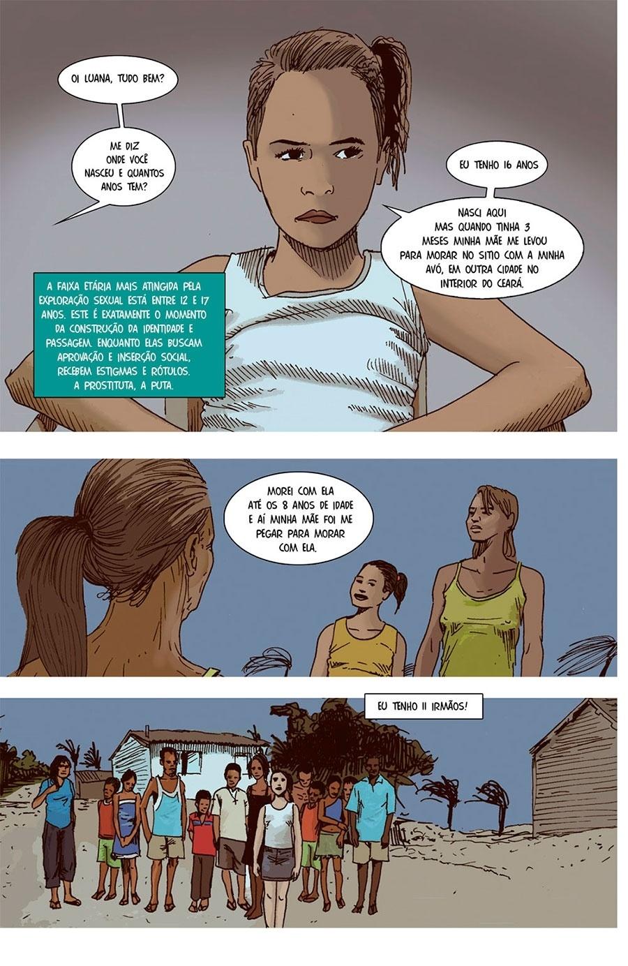 Capítulo 2: Outra menina, Luana, tem apenas 16 anos.