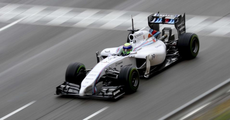 13.05.14 - Felipe Massa foi o sétimo colocado nos testes desta terça-feira