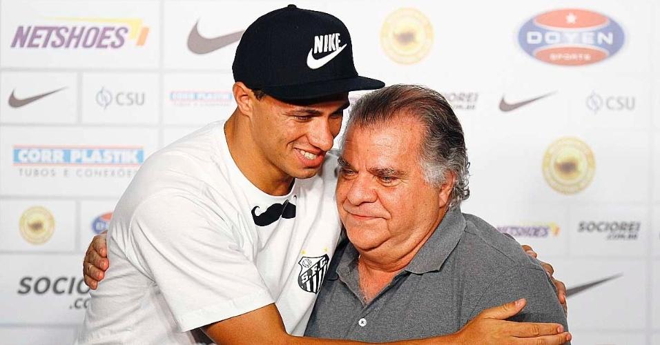 Santos confia na recuperação de Leandro Damião e, inclusive, recusou ofertas pelo camisa 9