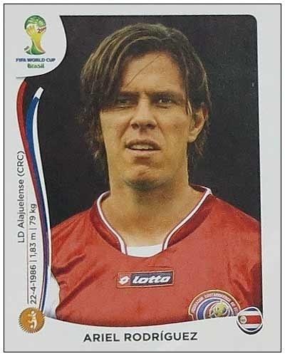 Ariel Rodriguez aparece na lista reserva da Costa Rica; ainda pode ir, mas só em caso de contusão de um dos escolhidos
