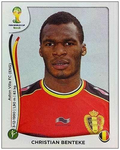 Benteké, atacante belga, rompeu o tendão calcâneo em abril e não se recuperou a tempo