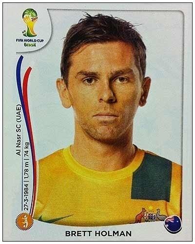 Brett Holman se aposentou da seleção australiana no dia 1° de maio, 12 dias antes da convocação
