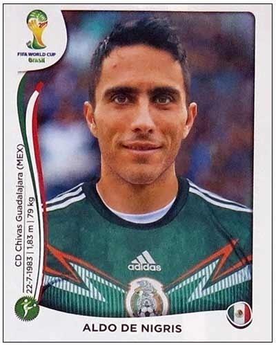 De Nigris, atacante, ficou fora do México por opção e já declarou aceitar isso