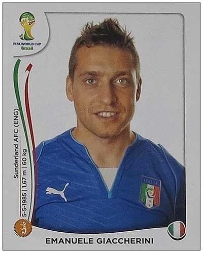 Giaccherini deixou a Juventus e foi para o Sudnerland, na Inglaterra; após temporada fraca, ficou fora da seleção italiana