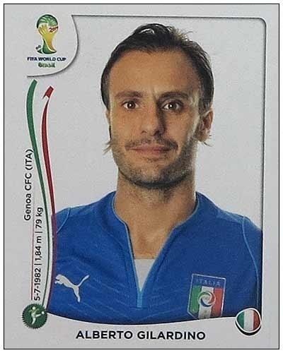 Gilardino chegou a jogar a Copa das Confederações e fez mais gols que a maioria dos atacantes convocados no Campeonato Italiano, mesmo assim não apareceu na lista