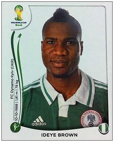 Ideye Brown não foi selecionado pelo técnico da Nigéria por opção técnica